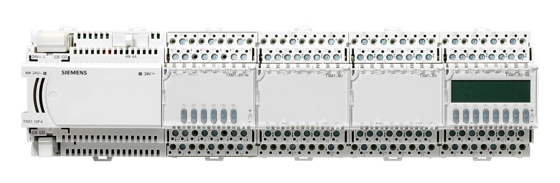 Siemens TX/IO for building automation controllers