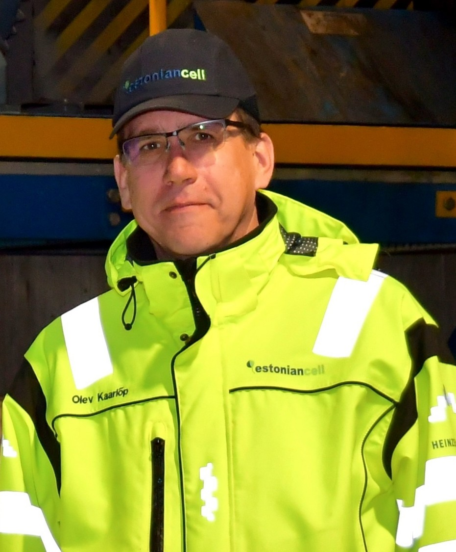 Olev Kaarlõp, Maintenance Manager Estonian Cell