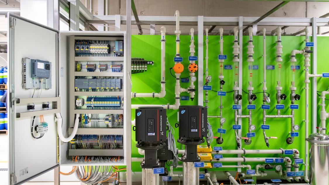 EnviroFalk GmbH  Schaltschrank mit S7-1200