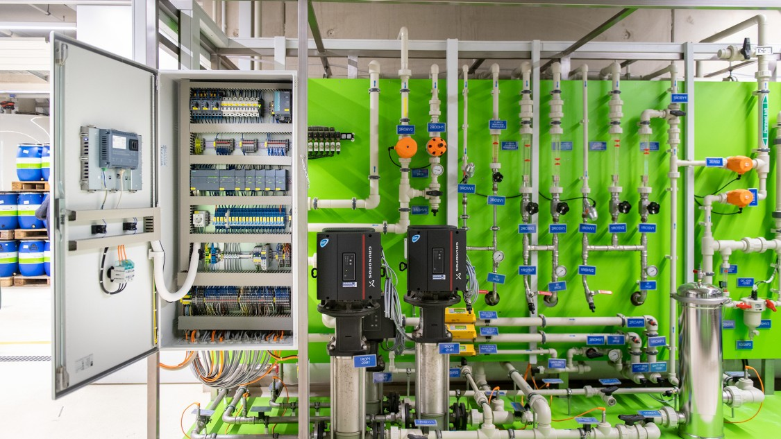 Key visual EnviroFALK water treatment