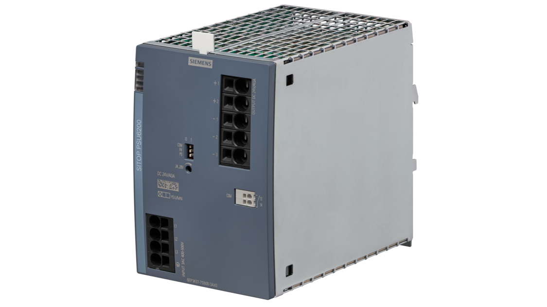 SITOP PSU6200, 3-phasig, DC 24 V/40 A, 6EP3437-7SB00-3AX0