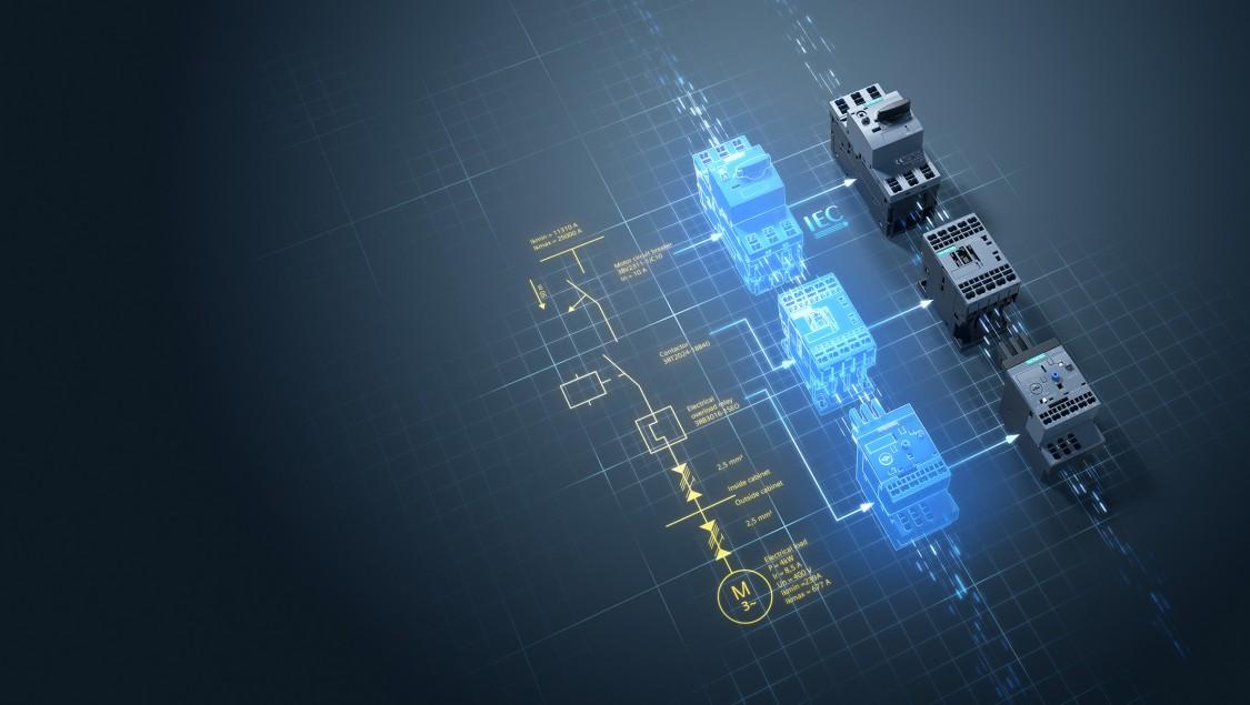 Motorindítás egyszerűen - SIRIUS moduláris rendszer + load feeder configurator