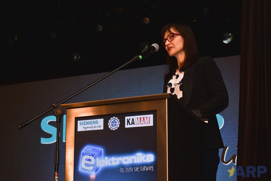 """Siemens na wręczeniu nagrody w konkursie """"Elektronika - by żyło się lepiej"""""""