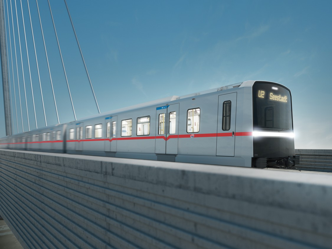 Wiener Linien–world's first metro trains equipped with PI+