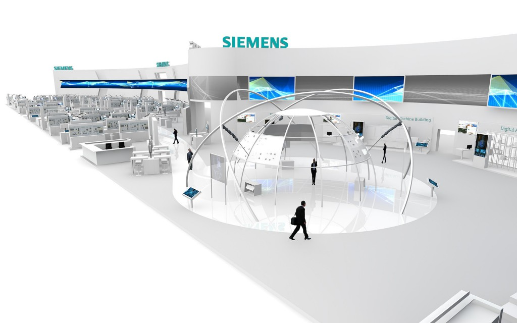 Siemens at the Hannover Messe 2015