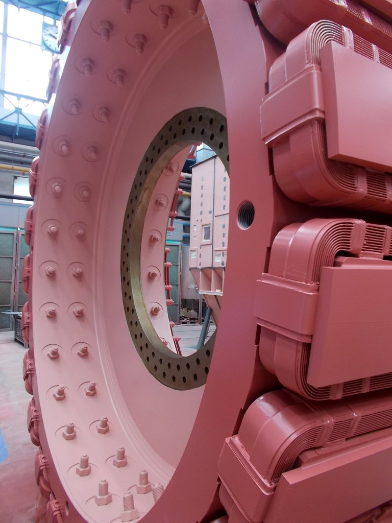 The image shows a stator for sirius minerals