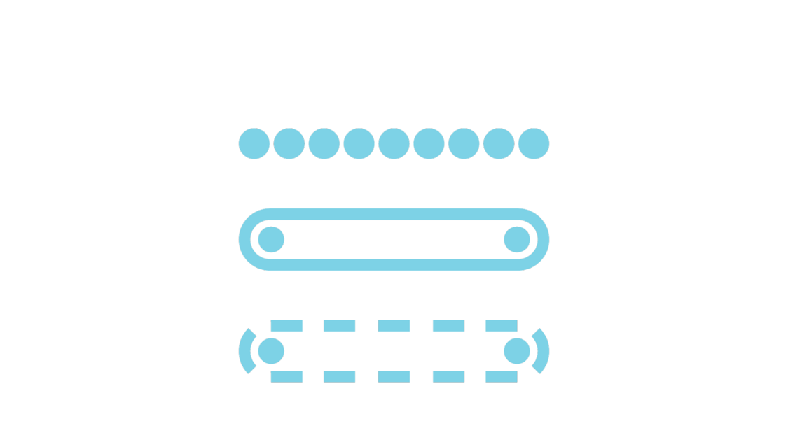 Icon roller belt chain