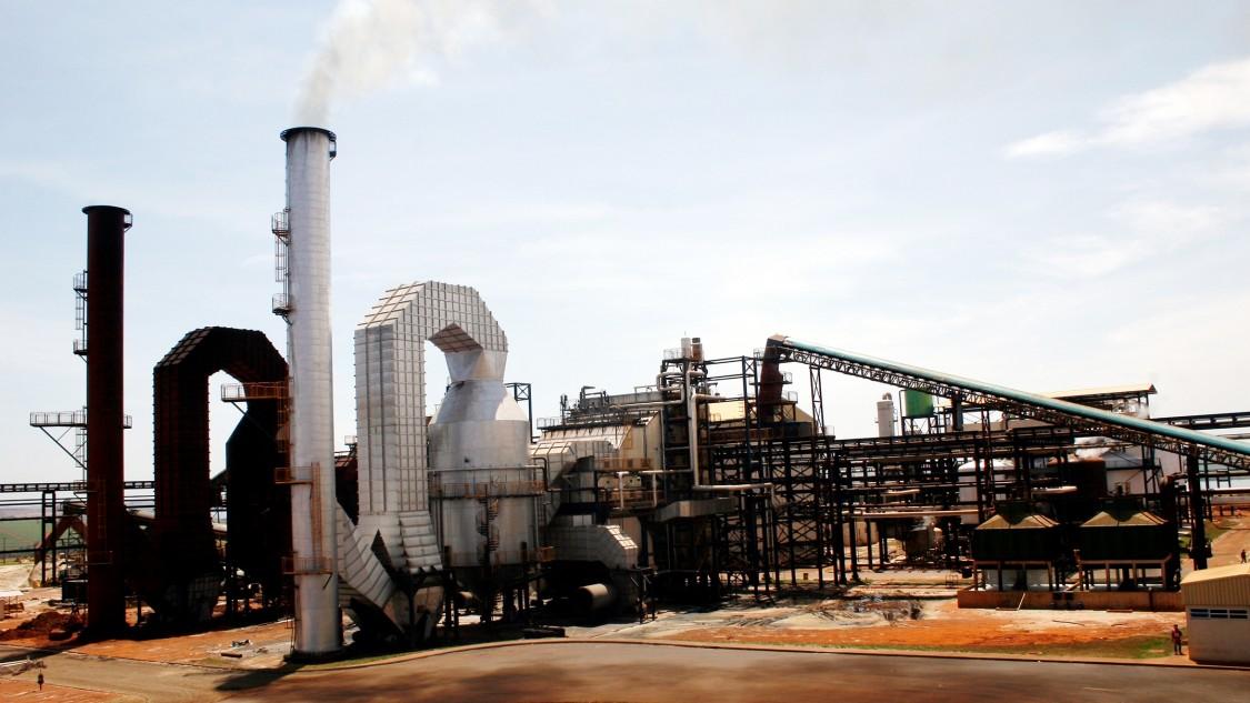 Bioethanol plant of Usina Alto Alegre Group, Santa Inacio, Brasilia.