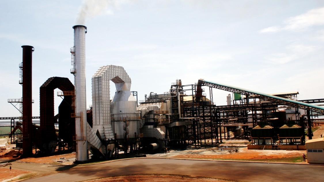 Bioethanolanlage der Usina Alto Alegre Group in Santa Inacio, Brasilien.