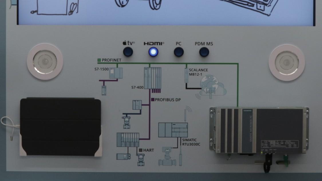 USA | Instrumentation for digitalization demo wall