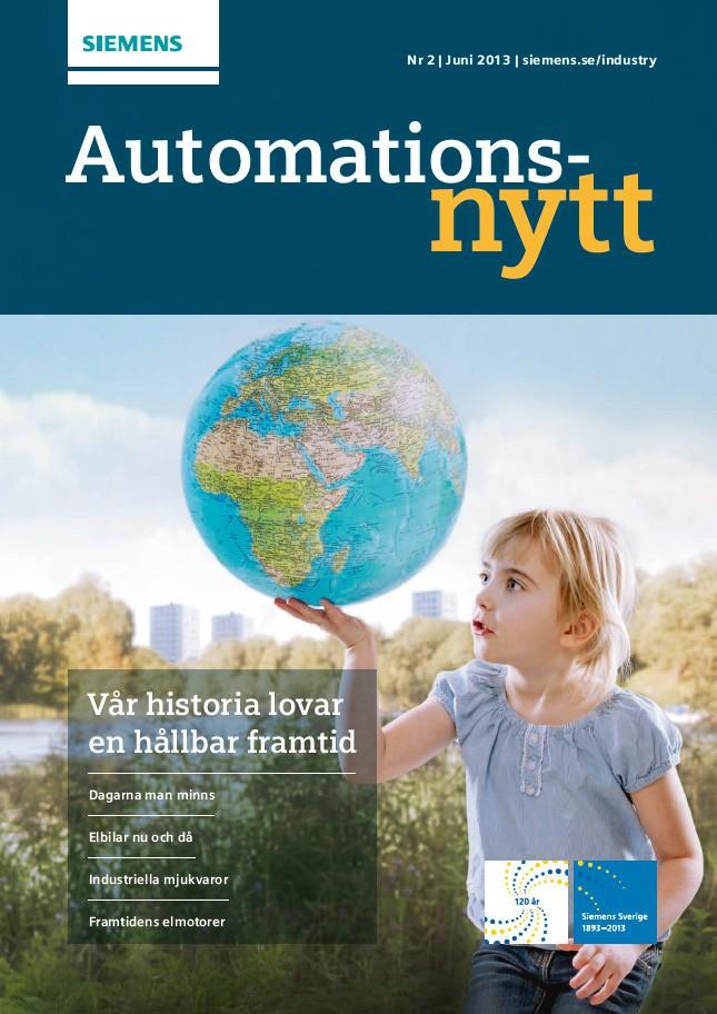 Automationsnytt Nr 2 | Juni 2013