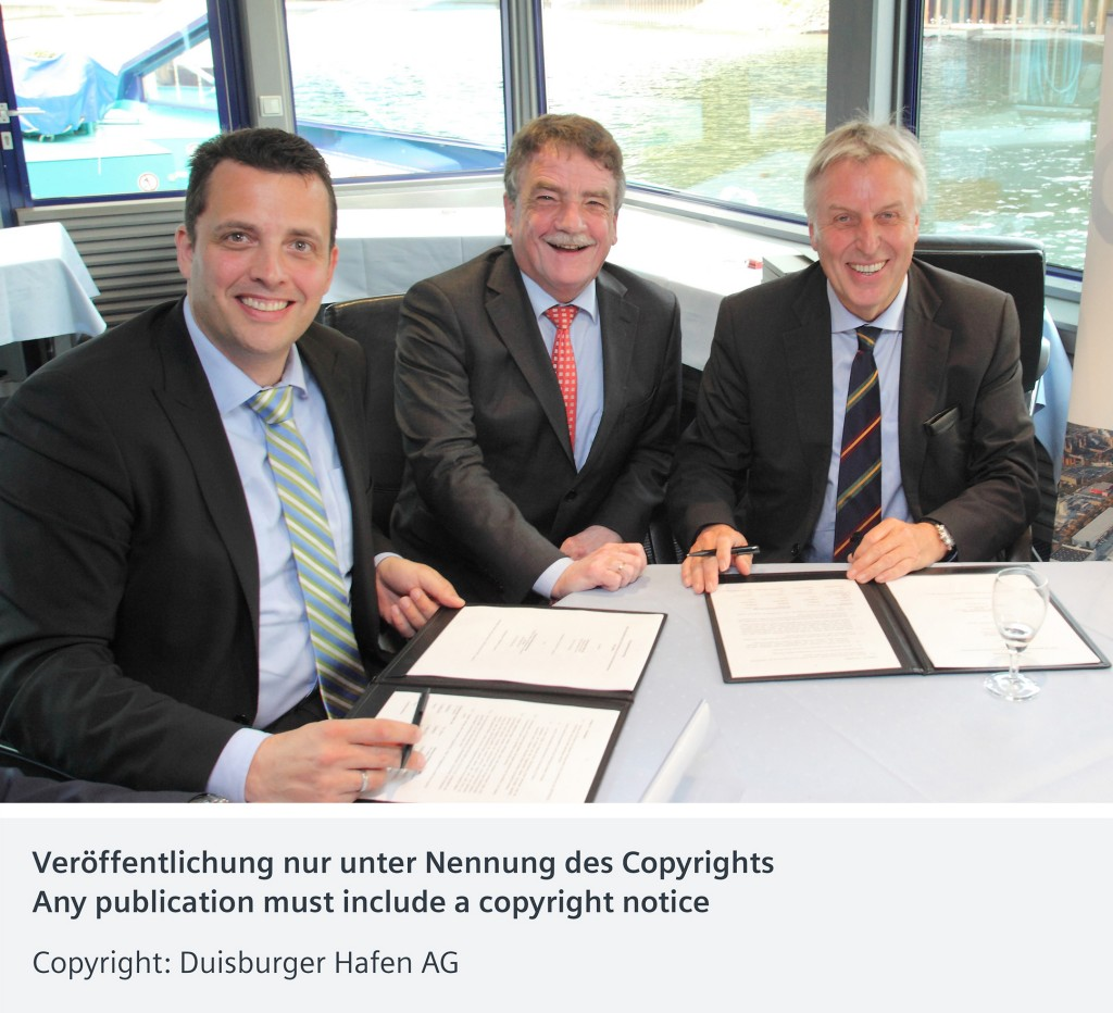 Siemens and Duisburger Hafen AG enter into strategic cooperation