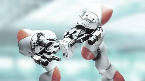 Intelligent assembly robots 5G