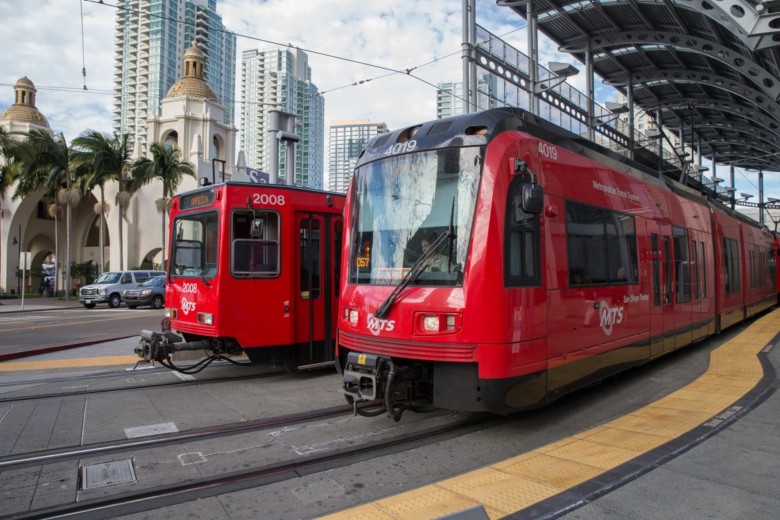 San Diego Light Rail Vehicles
