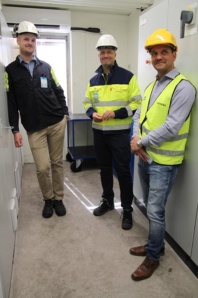 David Gunstad, Peter Nordin och Tony Sjölander.