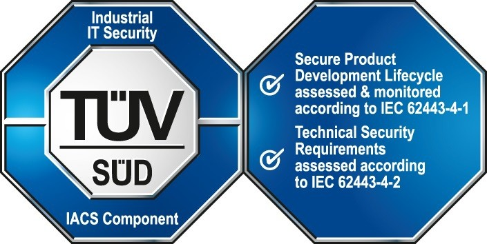 The foundation for secure networks - TÜV certification demonstrates the security of network components