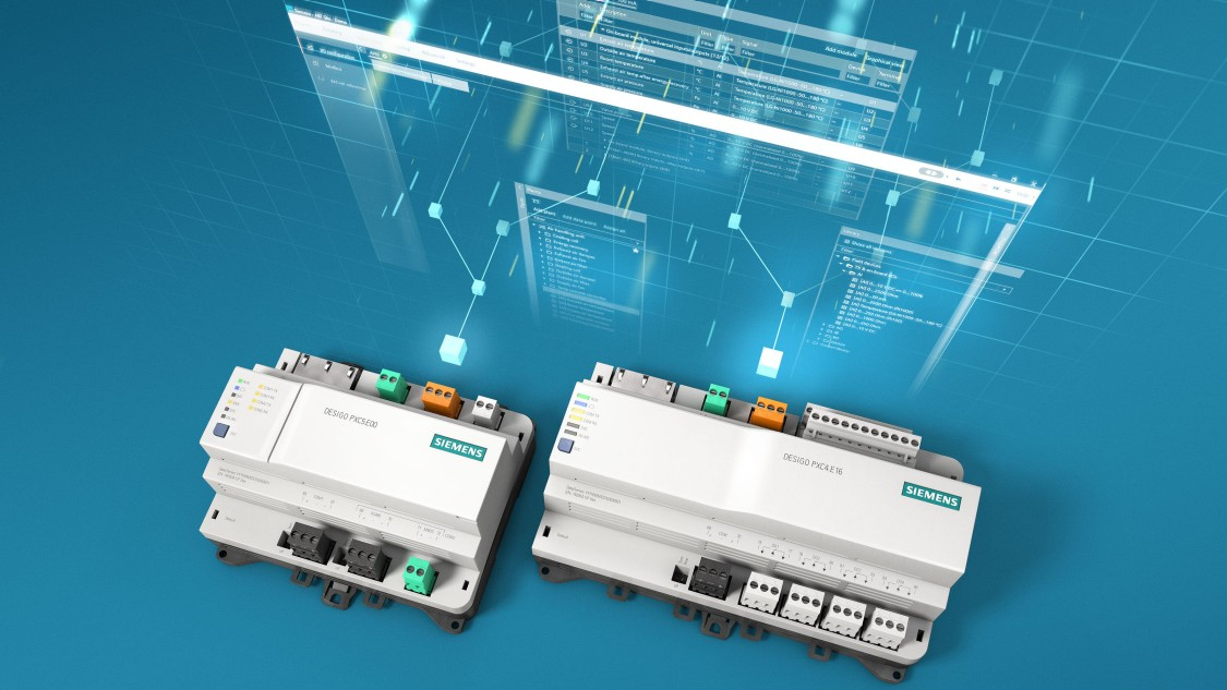 Desigo PXC4 and Desigo PXC5 controllers are next generation building automation controllers