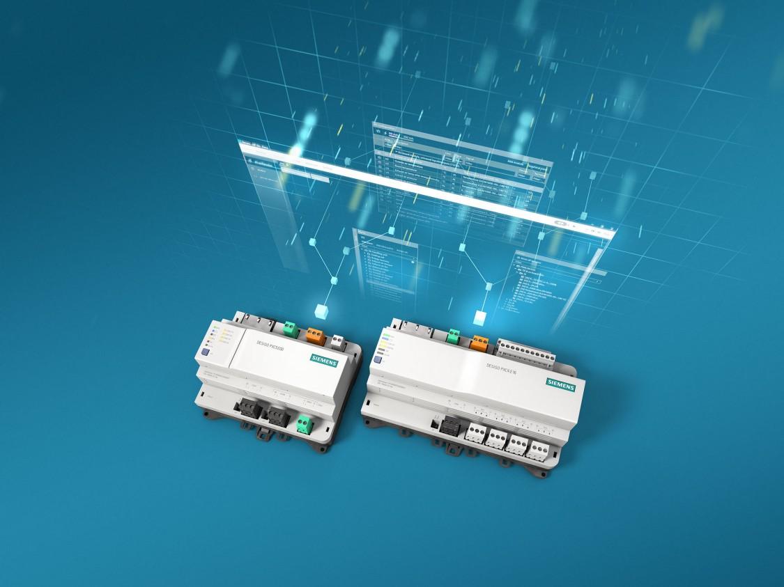 Steruj wydajnie instalacjami w budynkach za pomocą sterowników DESIGO PXC4 i PXC5