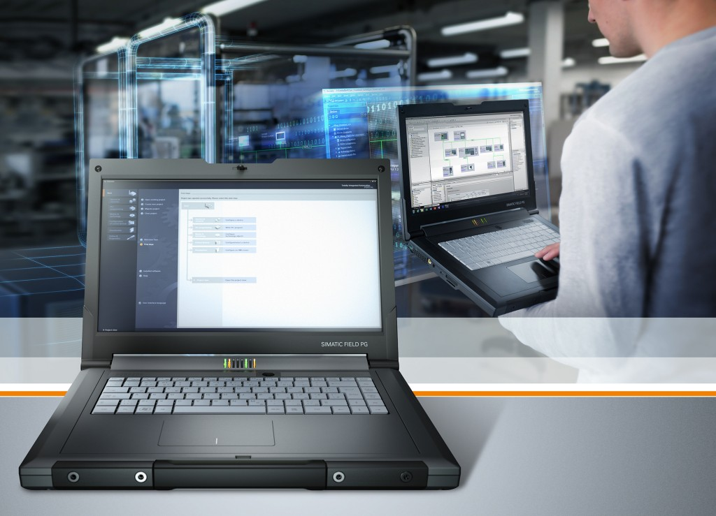 Rugged industrial notebooks for efficient automation engineering