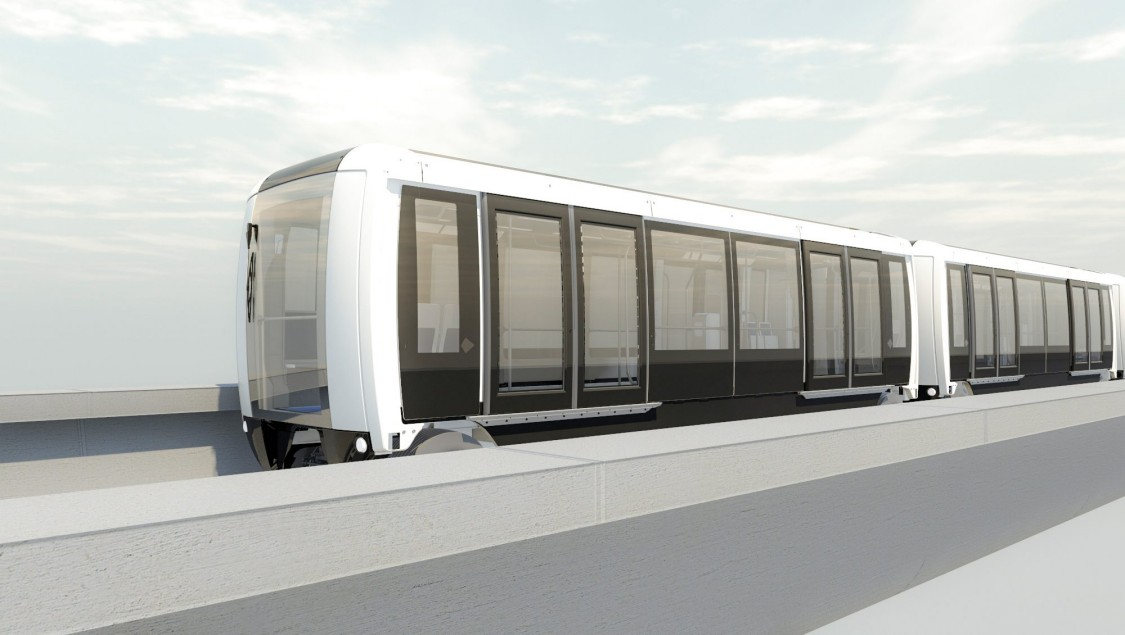 Arival Fully Automated People Mover for Bangkok Airport