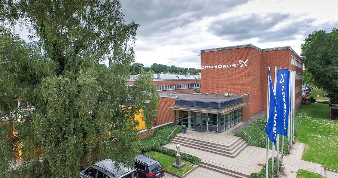 Siemens Gebäudetechnik bei Grundfos Wahlstedt
