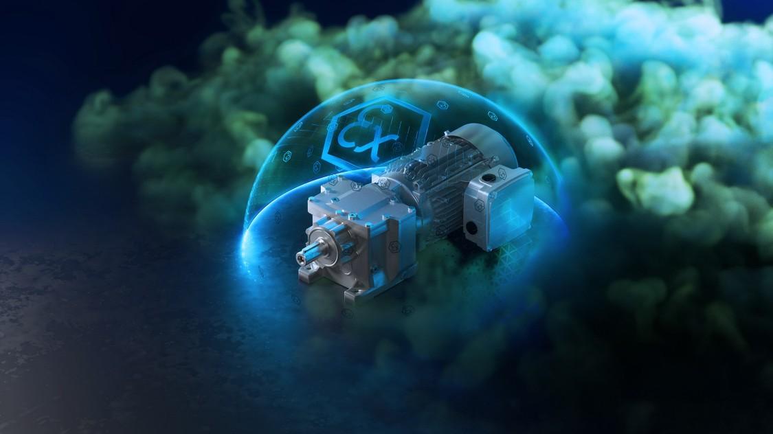 Explosionsgeschützte Getriebemotoren SIMOGEAR