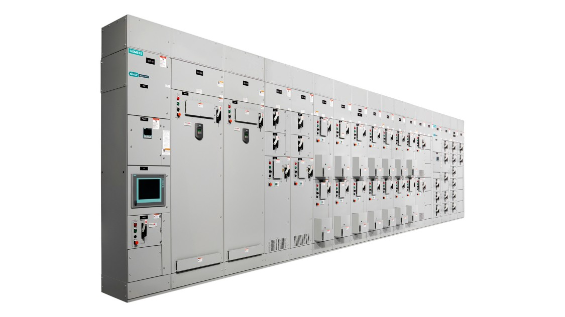 Siemens low-voltage motor control centers