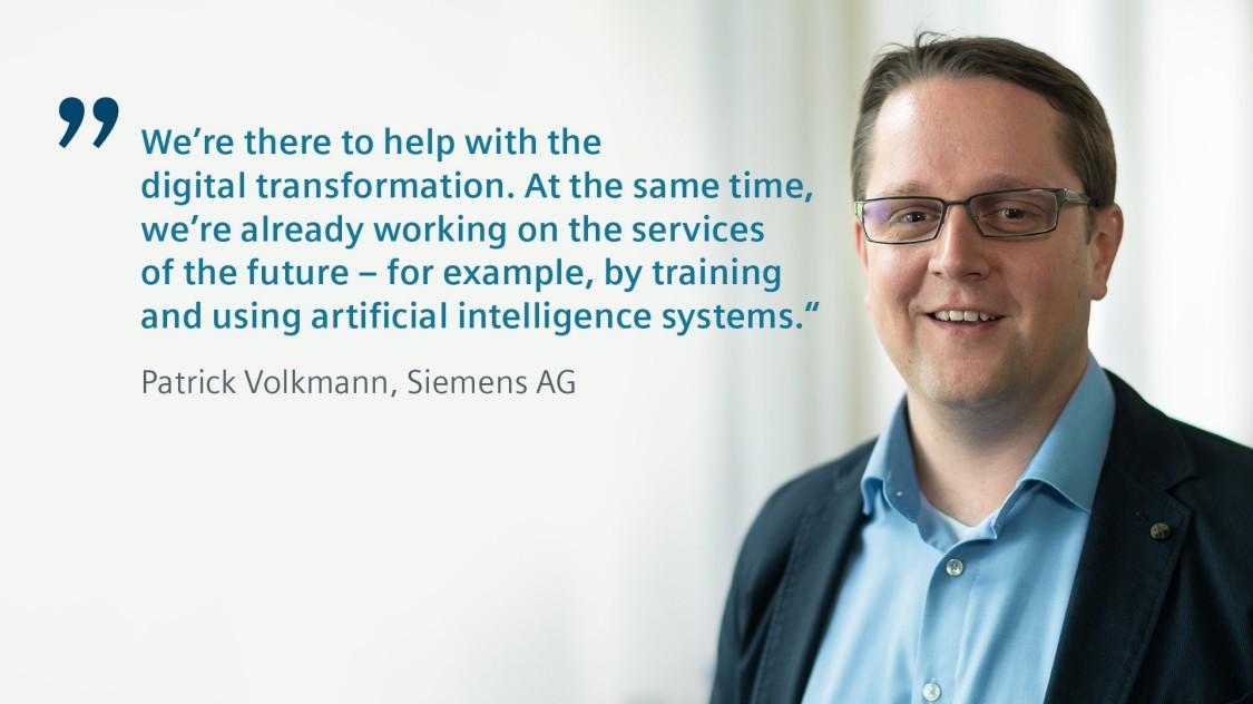 Siemens expert Patrick Volkmann talks about Predictive Services