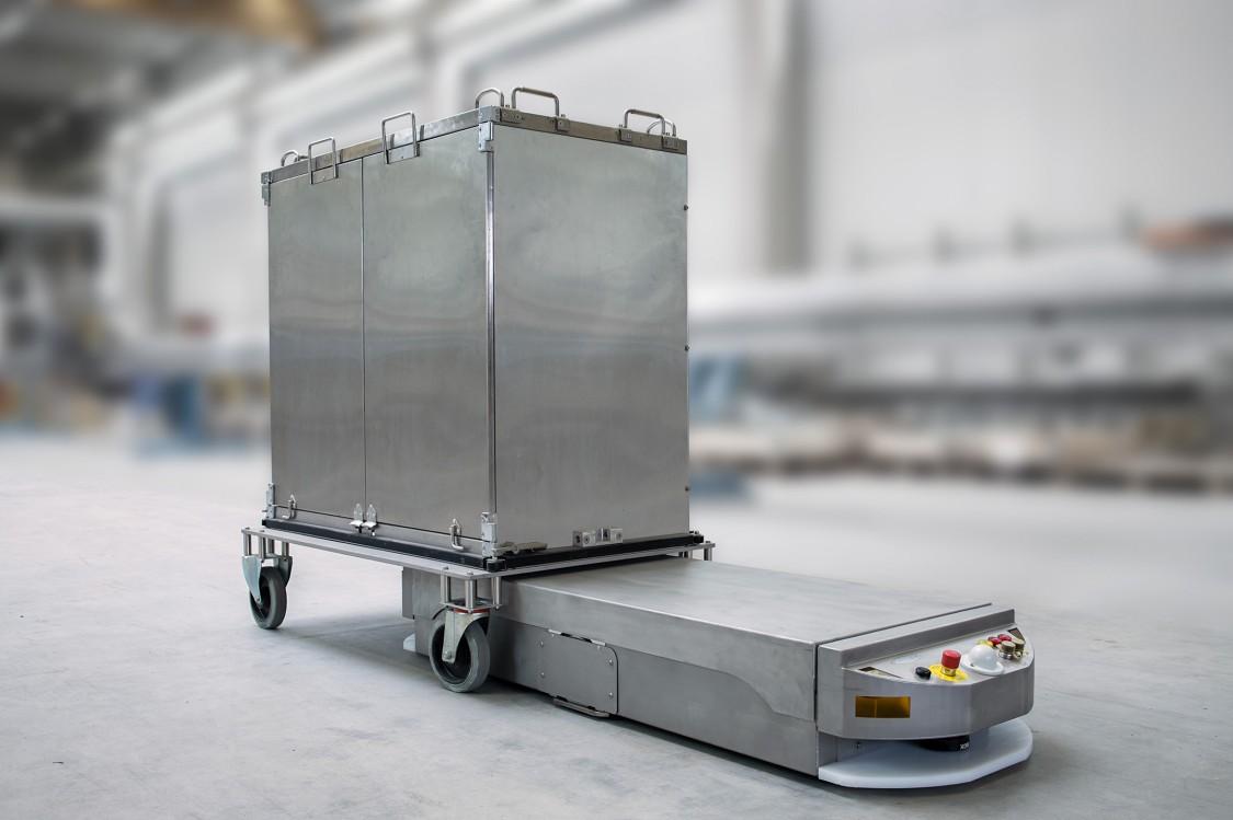 "Fahrerlosen Transportsysteme (FTS) ""Siatrans"""