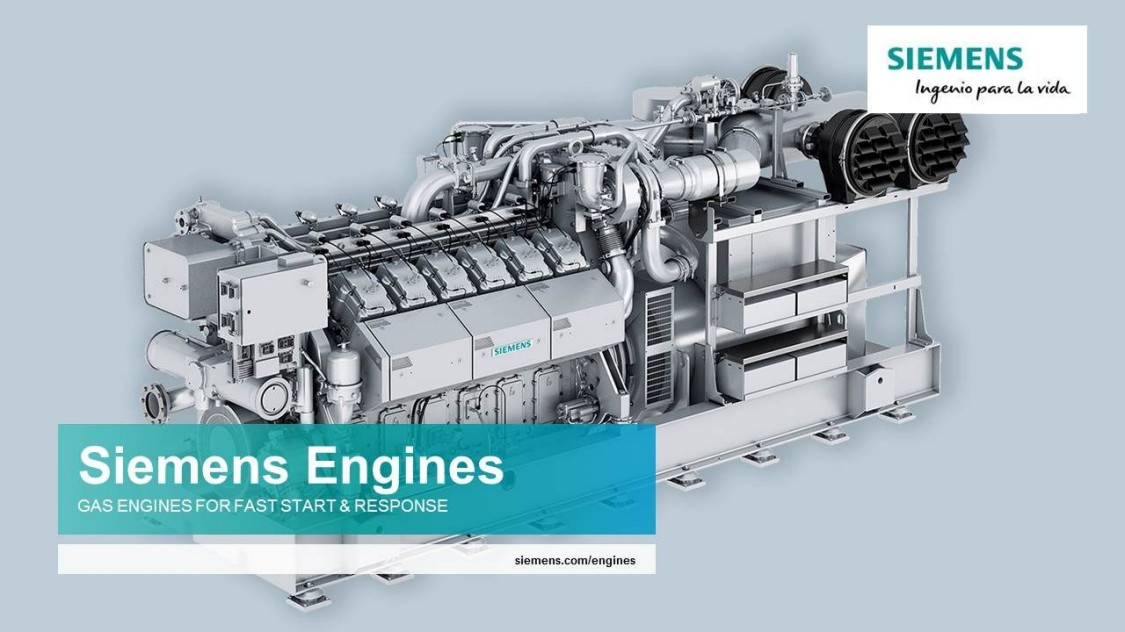 S Series: SL Engines | Gas Engines | Siemens