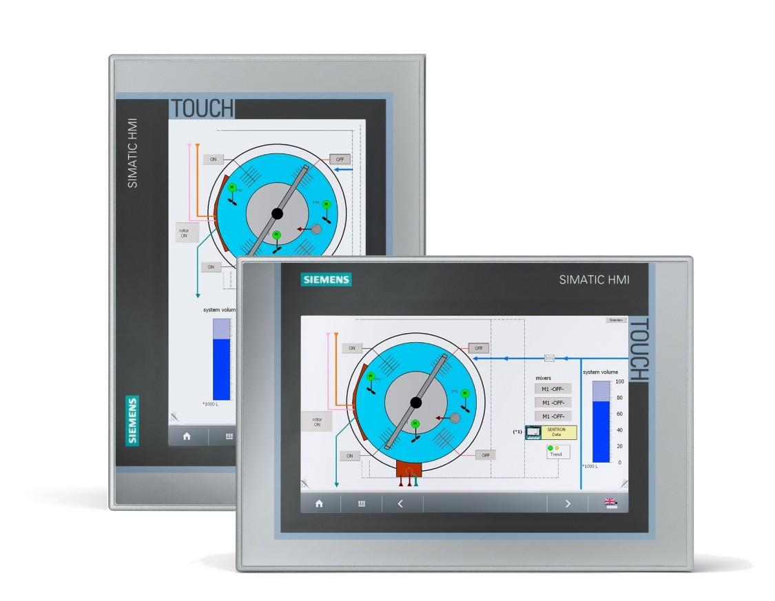 Hoch- oder Quereinbau von Touch Panels