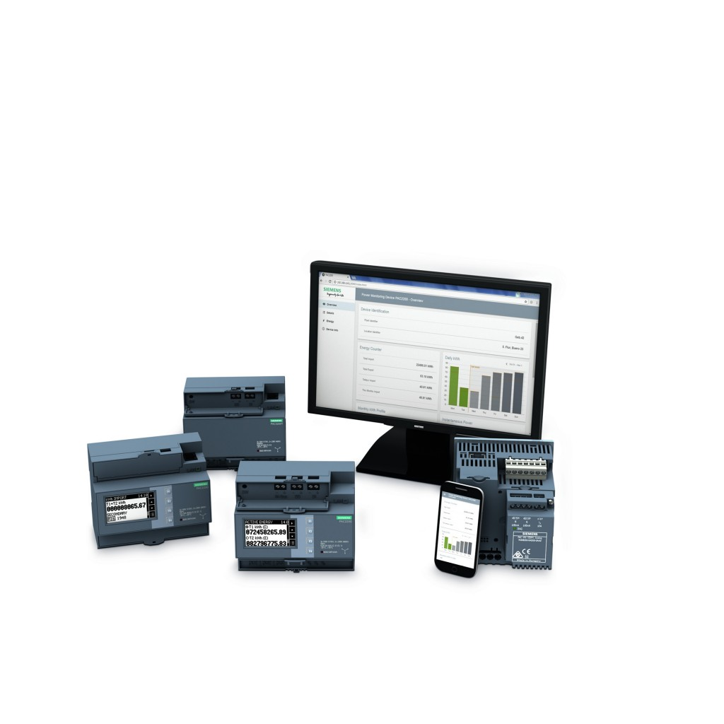 Siemens offers new components for power monitoring system