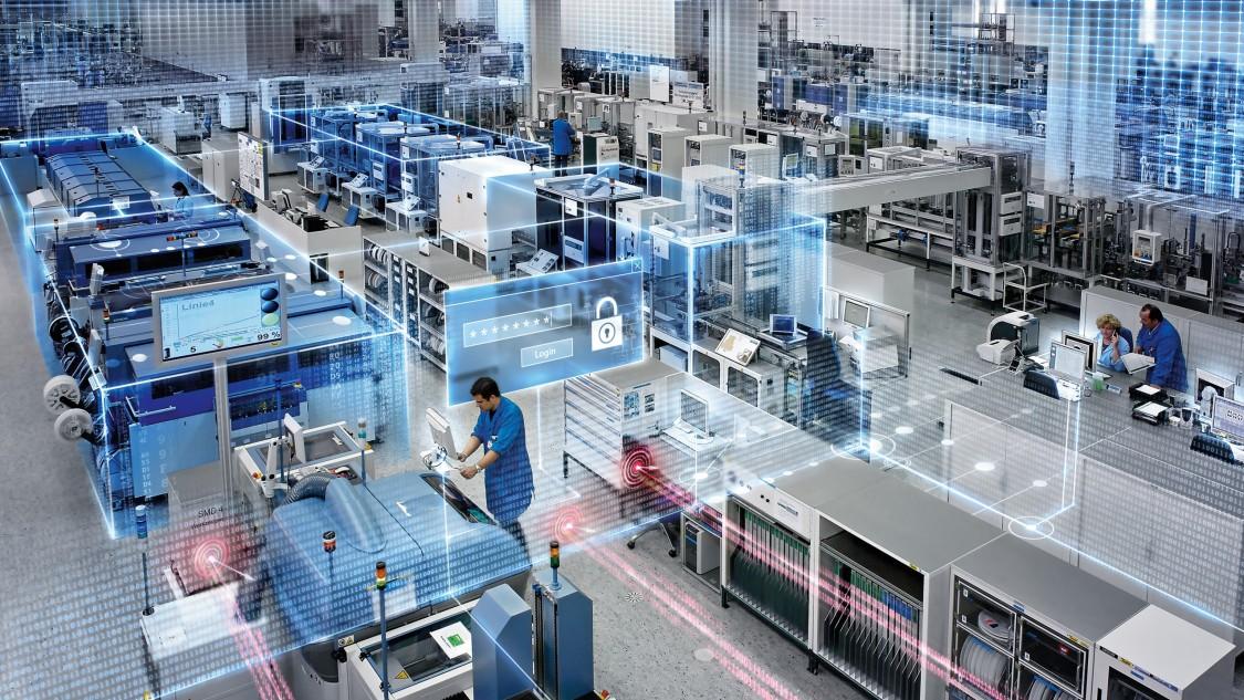 Elektronikwerk Amberg von Siemens