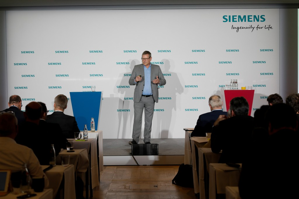 Siemens Press Conference prior to Hannover Messe 2019
