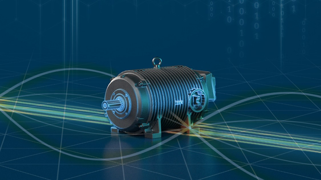 A SIMOTICS DP motor