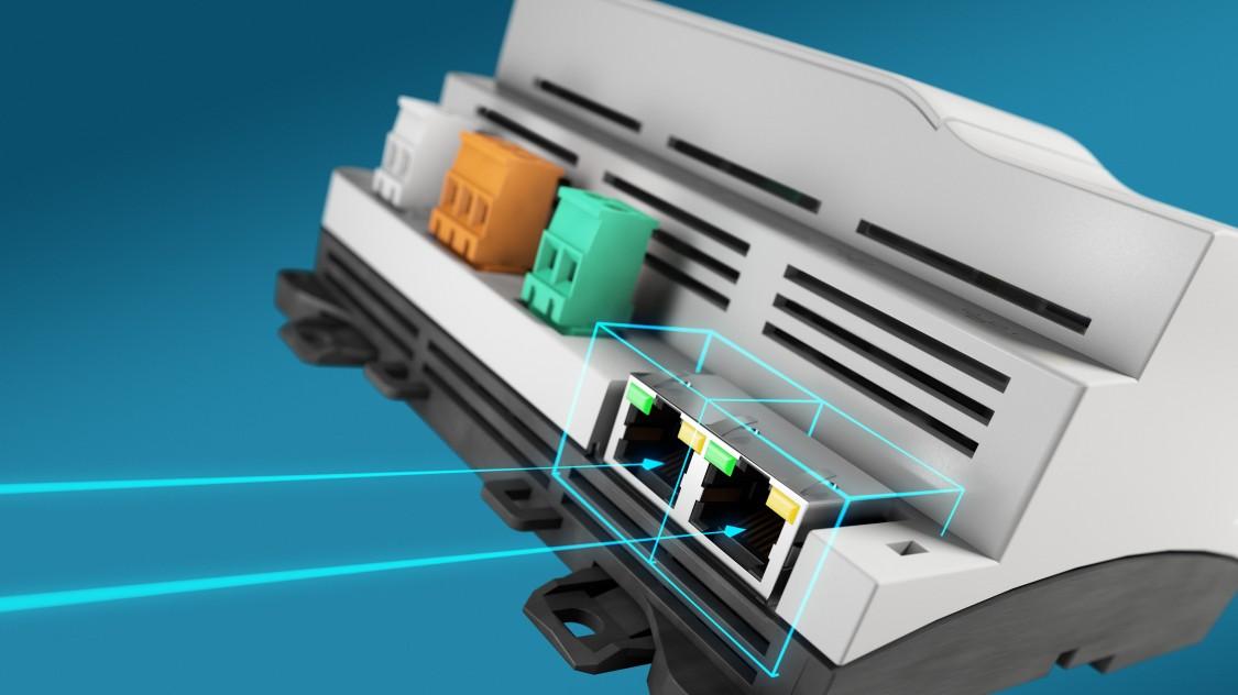 DESIGO PXC controllers provide easy access
