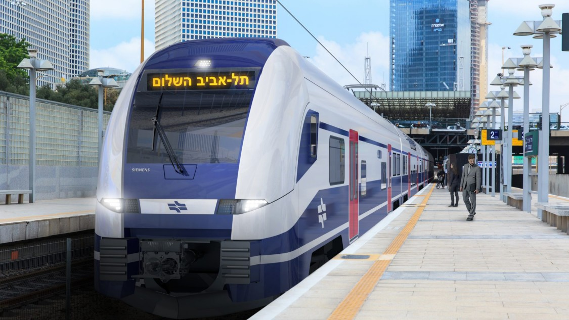 New double-decker trains for Israel
