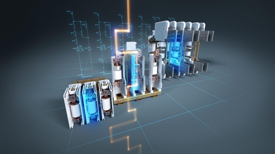 Medium-voltage components