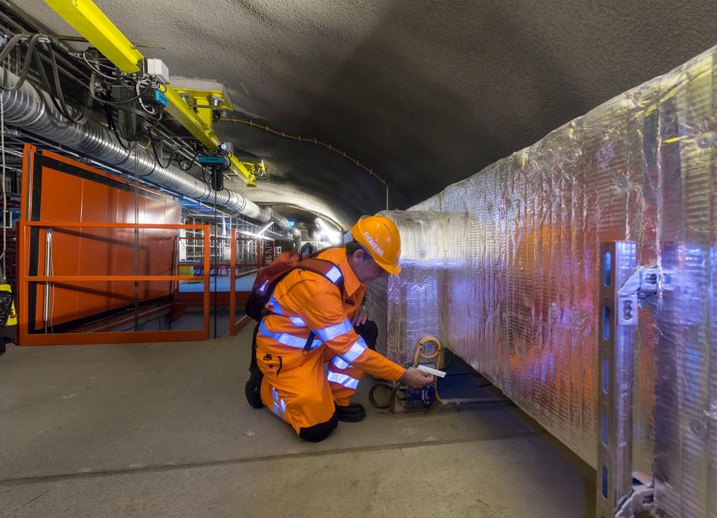 Gotthard-Basistunnel: Multifunktionsstelle Faido