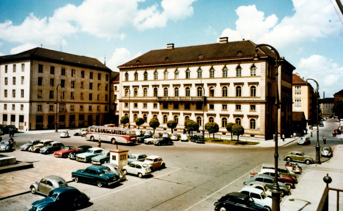 Munich headquarters, 1956