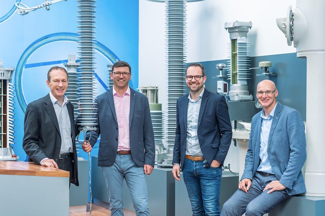 Portrait of Axel Schmieder, Wolfgang Braun, Martin Altmann, Thomas Koch