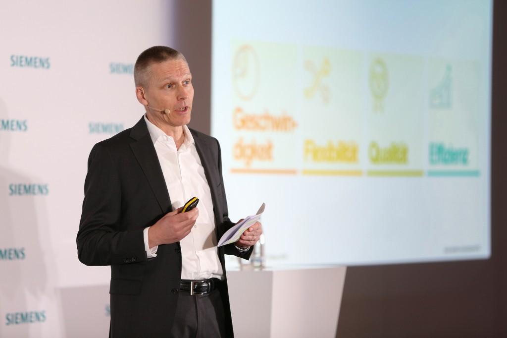 Siemens Pressekonferenz im Vorfeld der Hannover Messe 2018