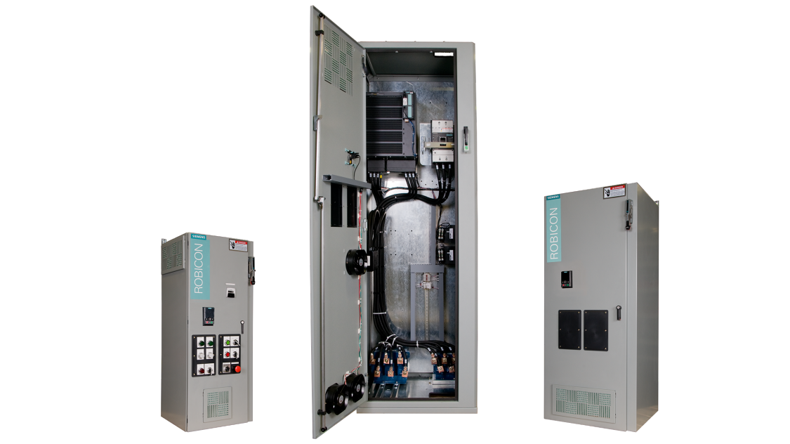 robicon w120 enclosed drives for water / wastewater