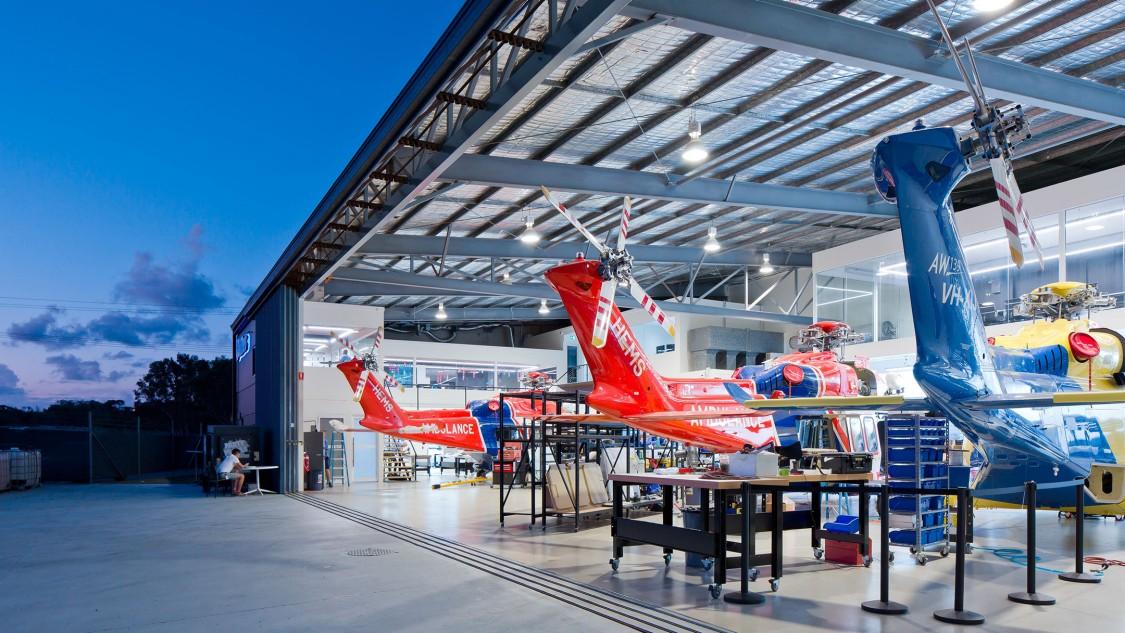 HM main hangar