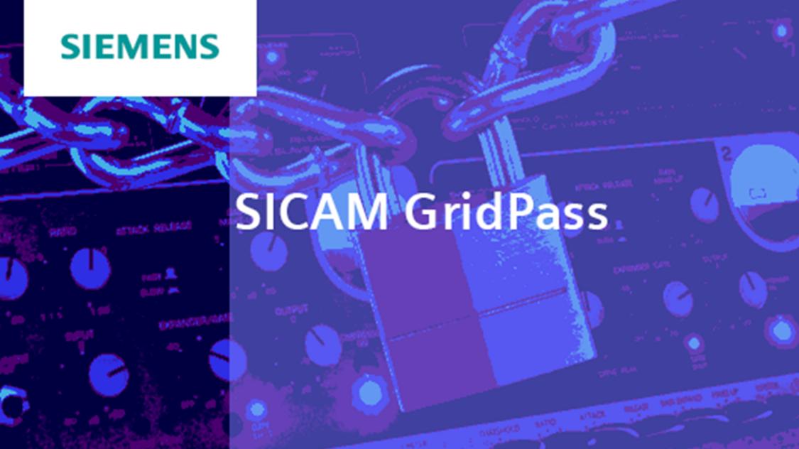 Certificate manager – SICAM GridPass