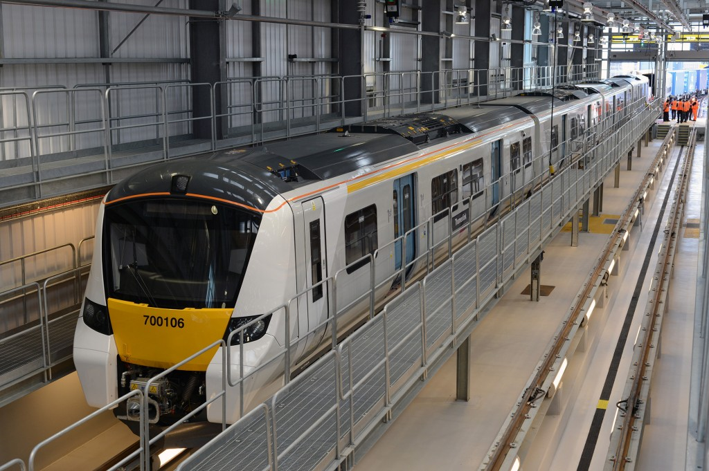 First Siemens-built Thameslink train arrives in London