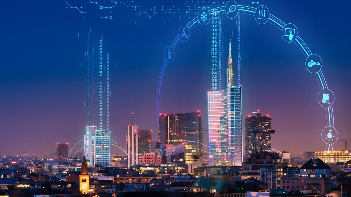 Key visual for Siemens presence at Mostra Convegno ExpoComfort 2020
