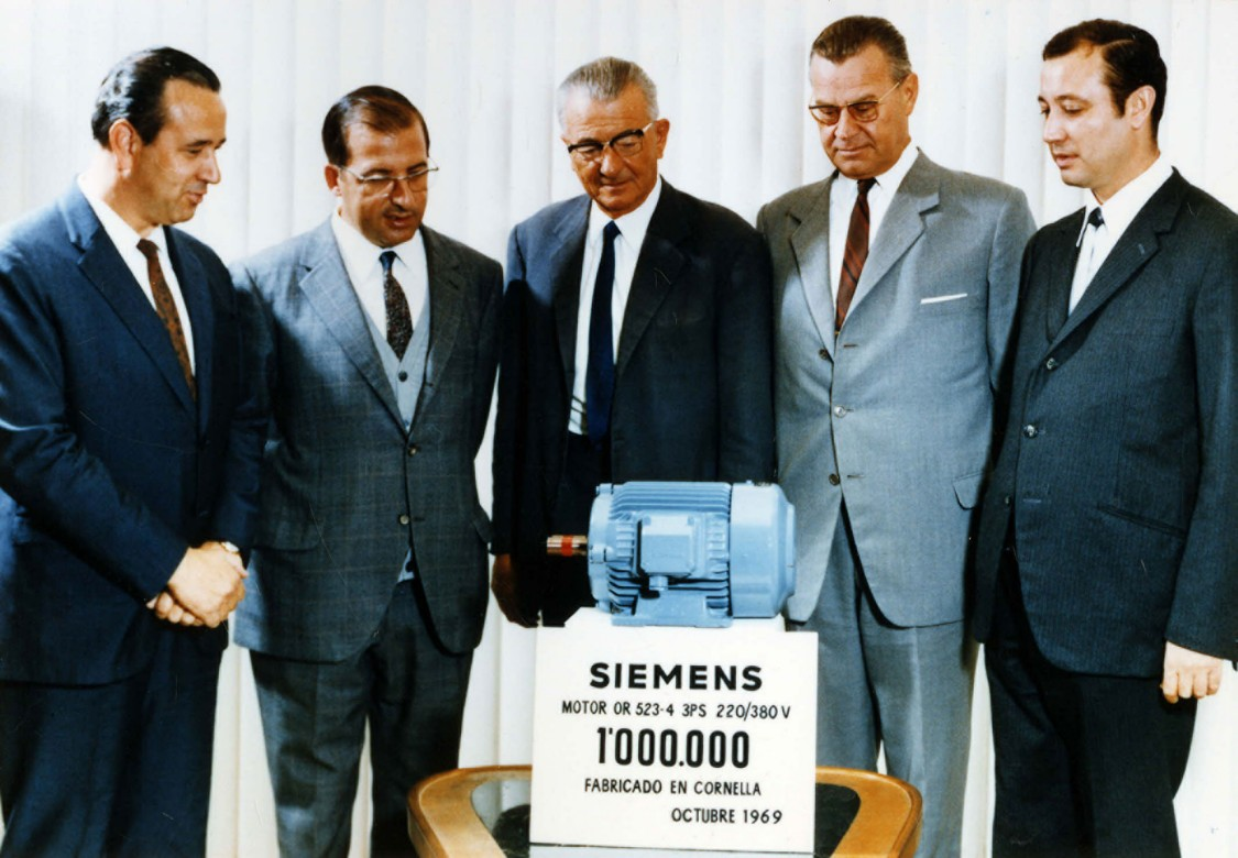 Still a man's business – Presenting the millionth motor, 1969