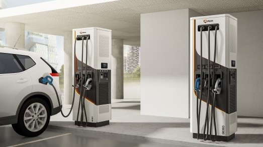 Yunex Traffic QC60 Electric Vehicle Chargers