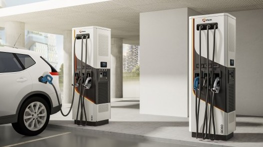 Yunex Traffic QC60 Electric Vehicle Charger